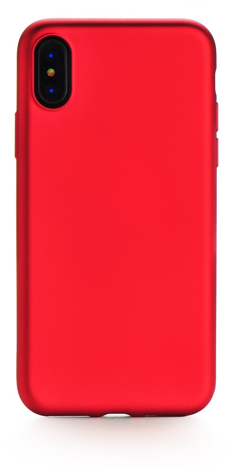 "Чехол для сотового телефона Gurdini накладка силикон Soft Touch 905088 для Apple iPhone X/XS 5.8"", красный"