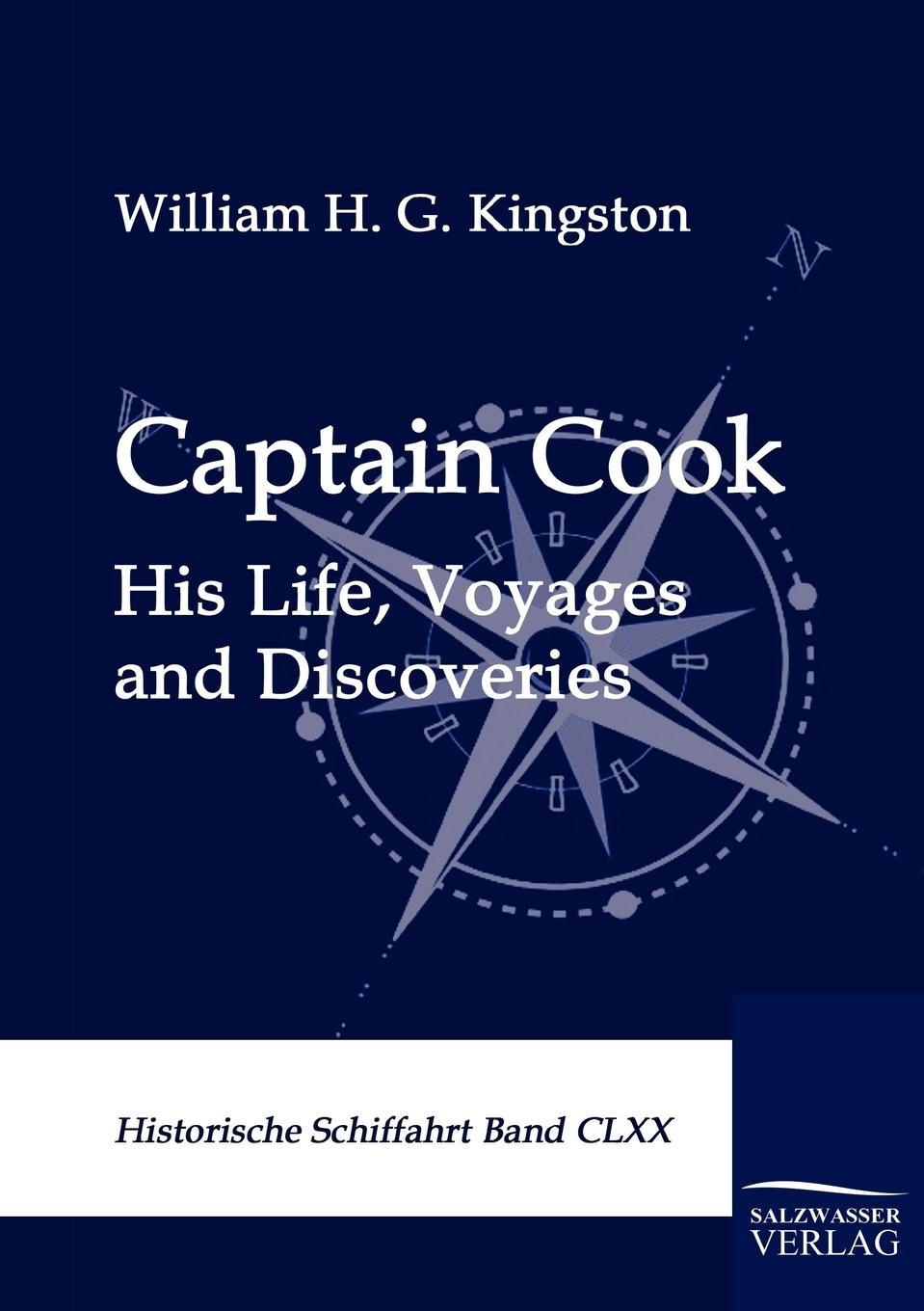William H. G. Kingston Captain Cook cook for your life