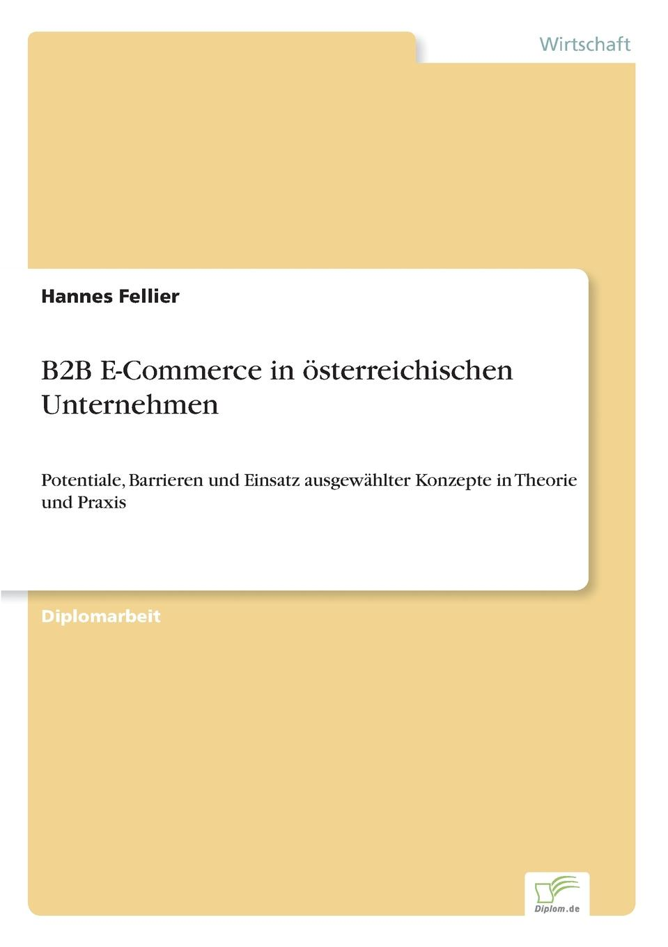 Hannes Fellier B2B E-Commerce in osterreichischen Unternehmen e commerce adoption in sme s