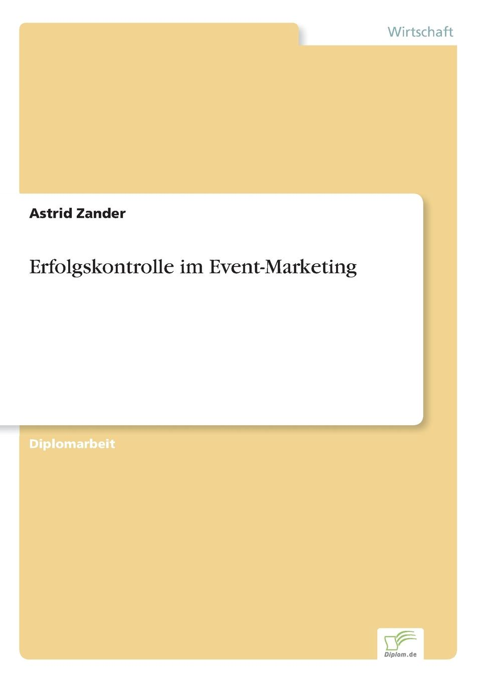 Astrid Zander Erfolgskontrolle im Event-Marketing event