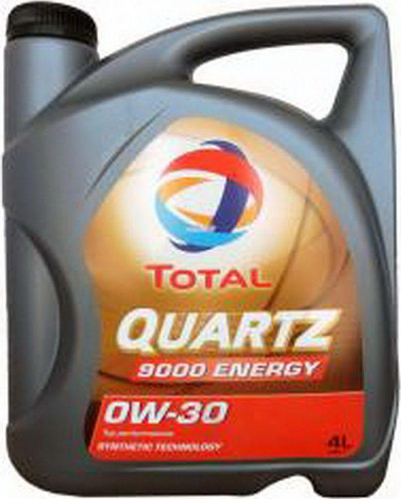 Моторное масло Total Quartz 9000 Energy 0W30, 0W-30, 4 л 151523