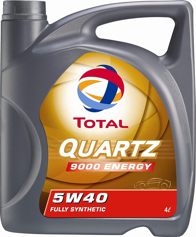 Моторное масло Total Quartz 9000 Energy 5W40, 5W-40, 4 л 10220501