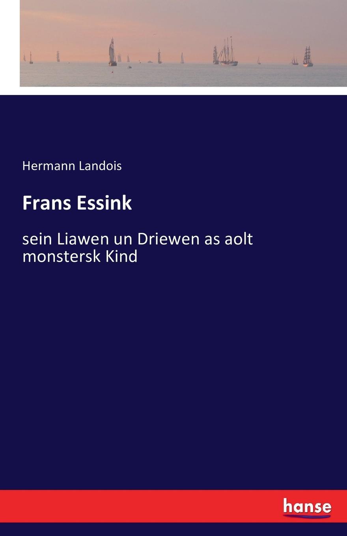 Hermann Landois Frans Essink collembola frans janssens