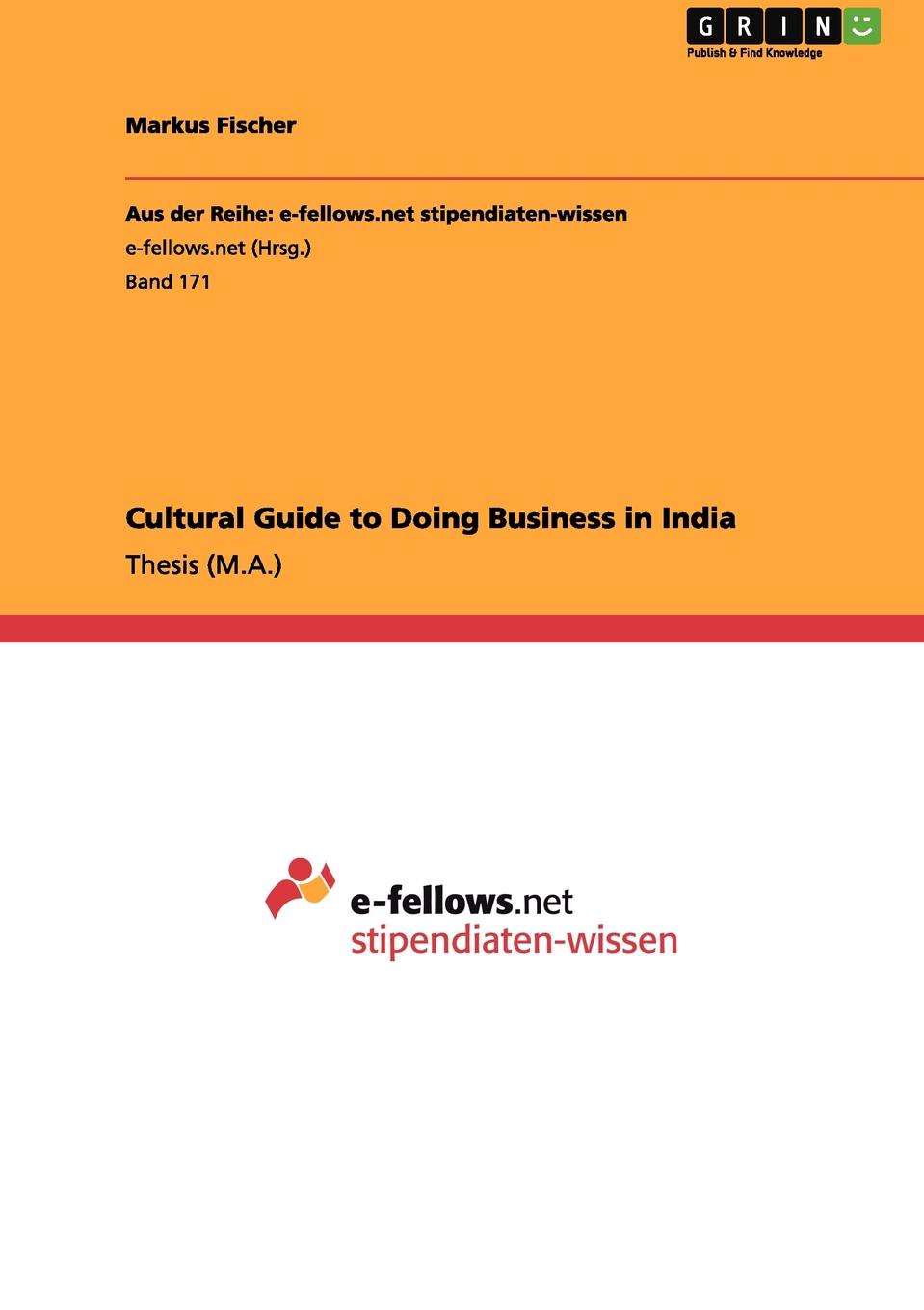 Markus Fischer Cultural Guide to Doing Business in India rembrandt and the inspiration of india