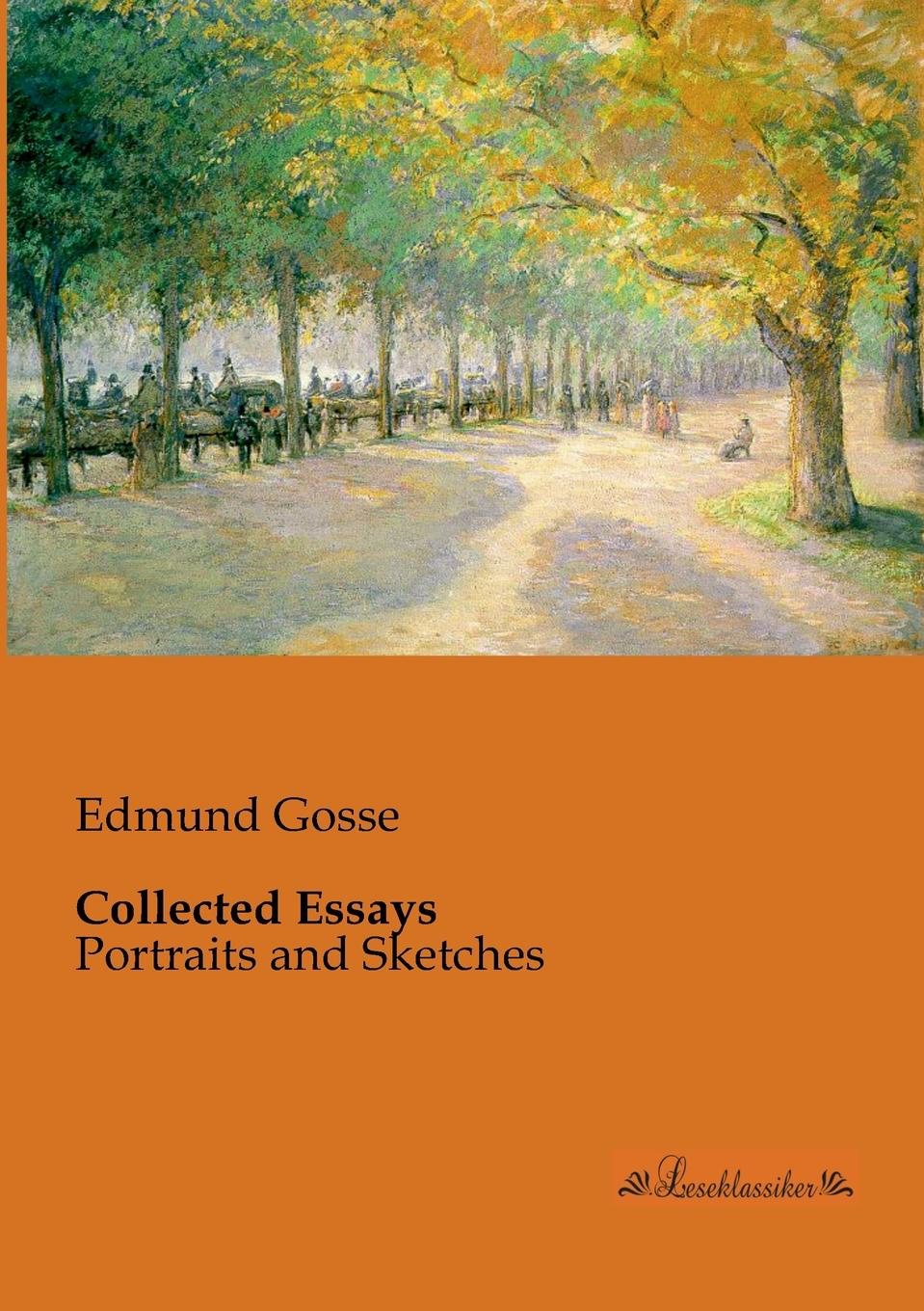 лучшая цена Edmund Gosse Collected Essays