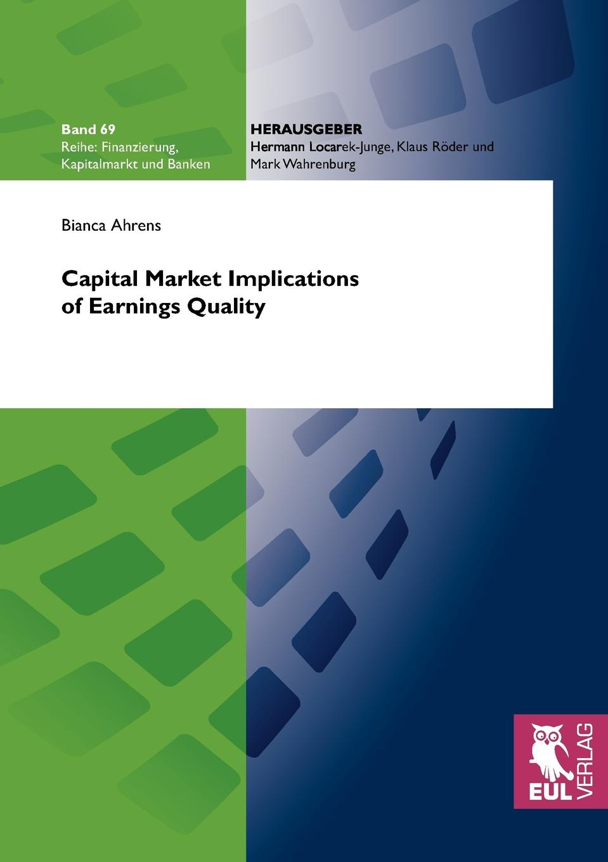 Bianca Ahrens Capital Market Implications of Earnings Quality сковорода добрыня do 3302 1
