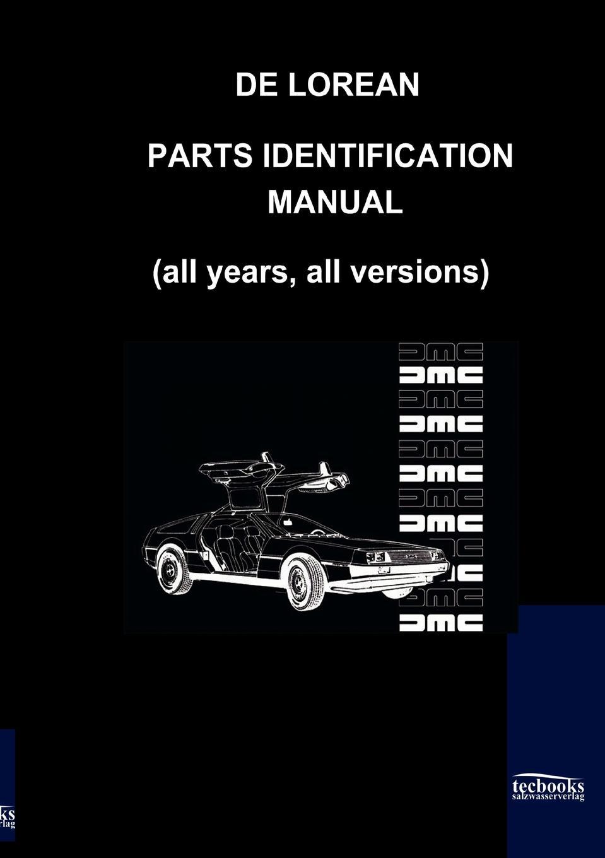De Lorean Parts Identification Manual tourne de transmission футболка