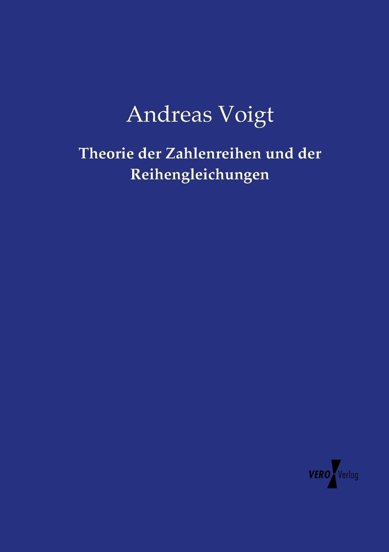 Andreas Voigt Theorie der Zahlenreihen und der Reihengleichungen heiko schnickmann die theorie der monogenese von pidgin und kreolsprachen