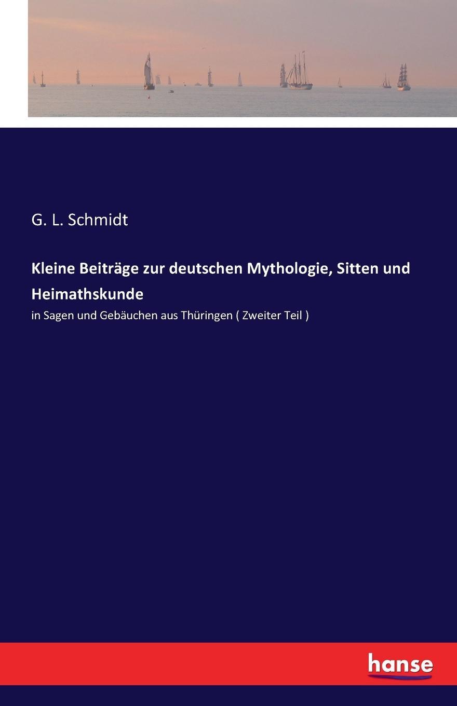купить Kleine Beitrage zur deutschen Mythologie, Sitten und Heimathskunde дешево