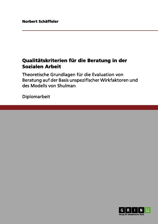 Norbert Schäffeler Qualitatskriterien fur die Beratung in der Sozialen Arbeit nina reale beratung im lehrerforum wirkfaktoren einer virtuellen und professionellen lerngemeinschaft