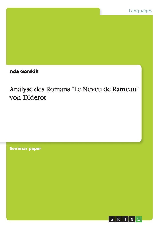 Ada Gorskih Analyse des Romans