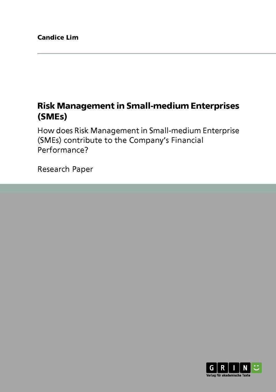 цены на Candice Lim Risk Management in Small-medium Enterprises (SMEs)  в интернет-магазинах