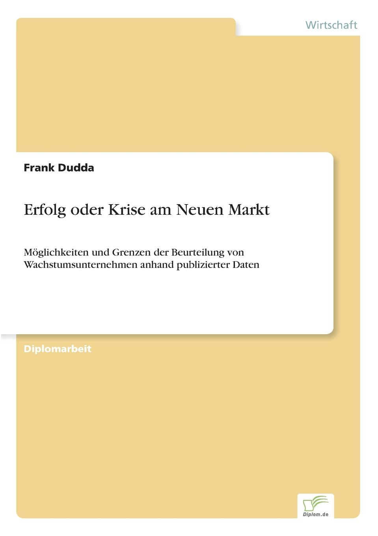 Frank Dudda Erfolg oder Krise am Neuen Markt andrea gloger size effekt am neuen markt