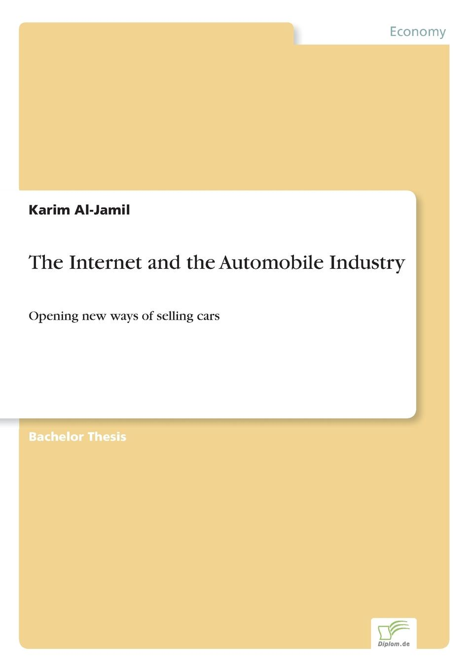 Karim Al-Jamil The Internet and the Automobile Industry art in the age of the internet 1989 to today
