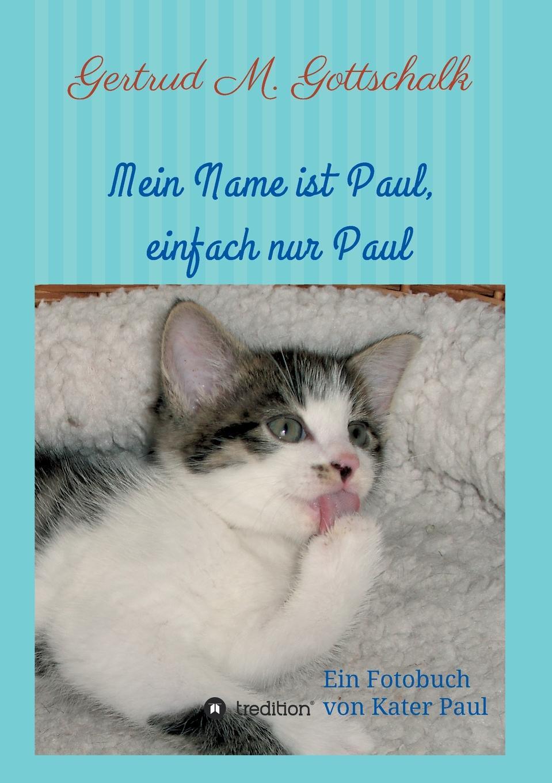 Gertrud M. Gottschalk Mein Name ist Paul, einfach nur Paul цена и фото