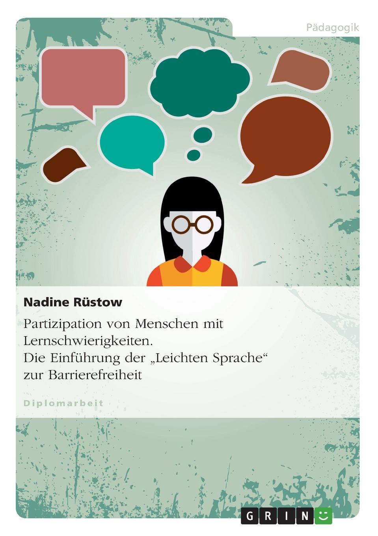 Nadine Rüstow Partizipation von Menschen mit Lernschwierigkeiten. Die Einfuhrung der .Leichten Sprache zur Barrierefreiheit menschen a2 testtrainer mit cd