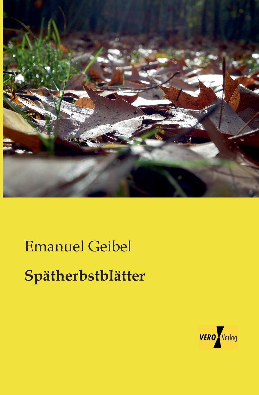 Emanuel Geibel Spatherbstblatter a geibel gavotte impromptu