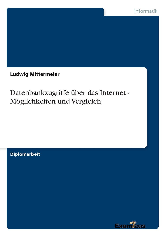Ludwig Mittermeier Datenbankzugriffe uber das Internet - Moglichkeiten und Vergleich oracle weblogic server 12c