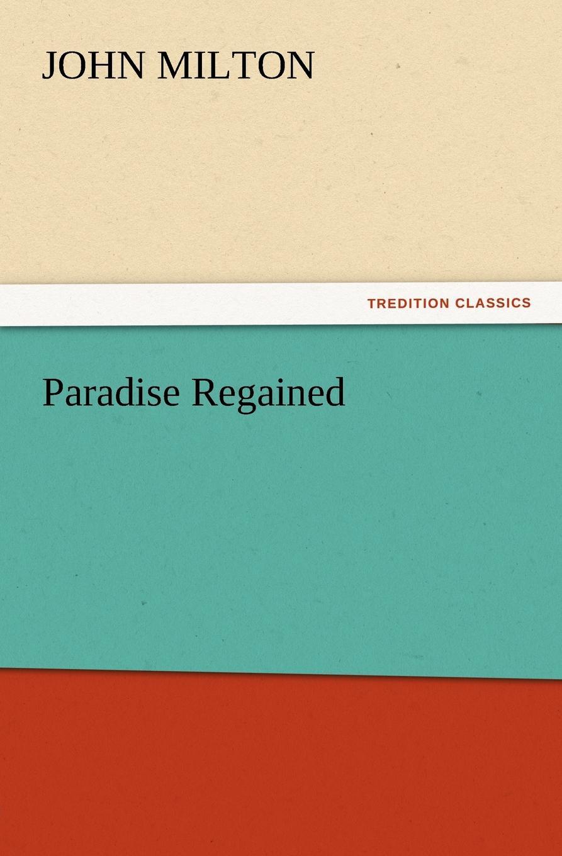 John Milton Paradise Regained