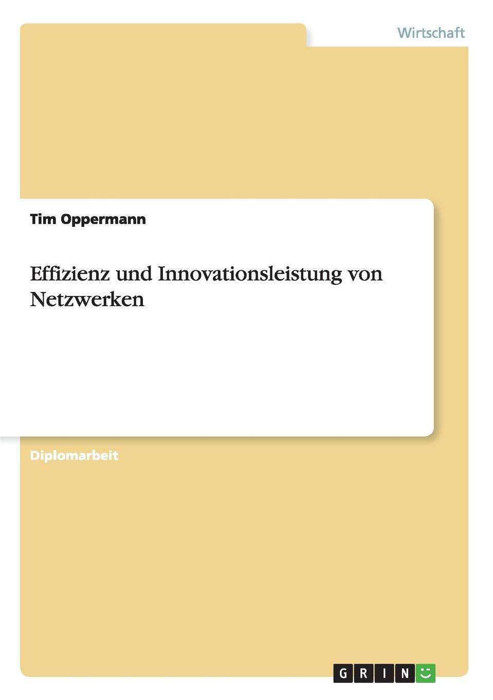 Effizienz und Innovationsleistung von Netzwerken Diplomarbeit aus dem Jahr 2009 im Fachbereich BWL Personal...