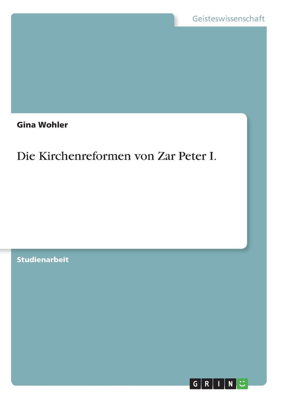 Gina Wohler Die Kirchenreformen von Zar Peter I. thomas schauf die unregierbarkeitstheorie der 1970er jahre in einer reflexion auf das ausgehende 20 jahrhundert