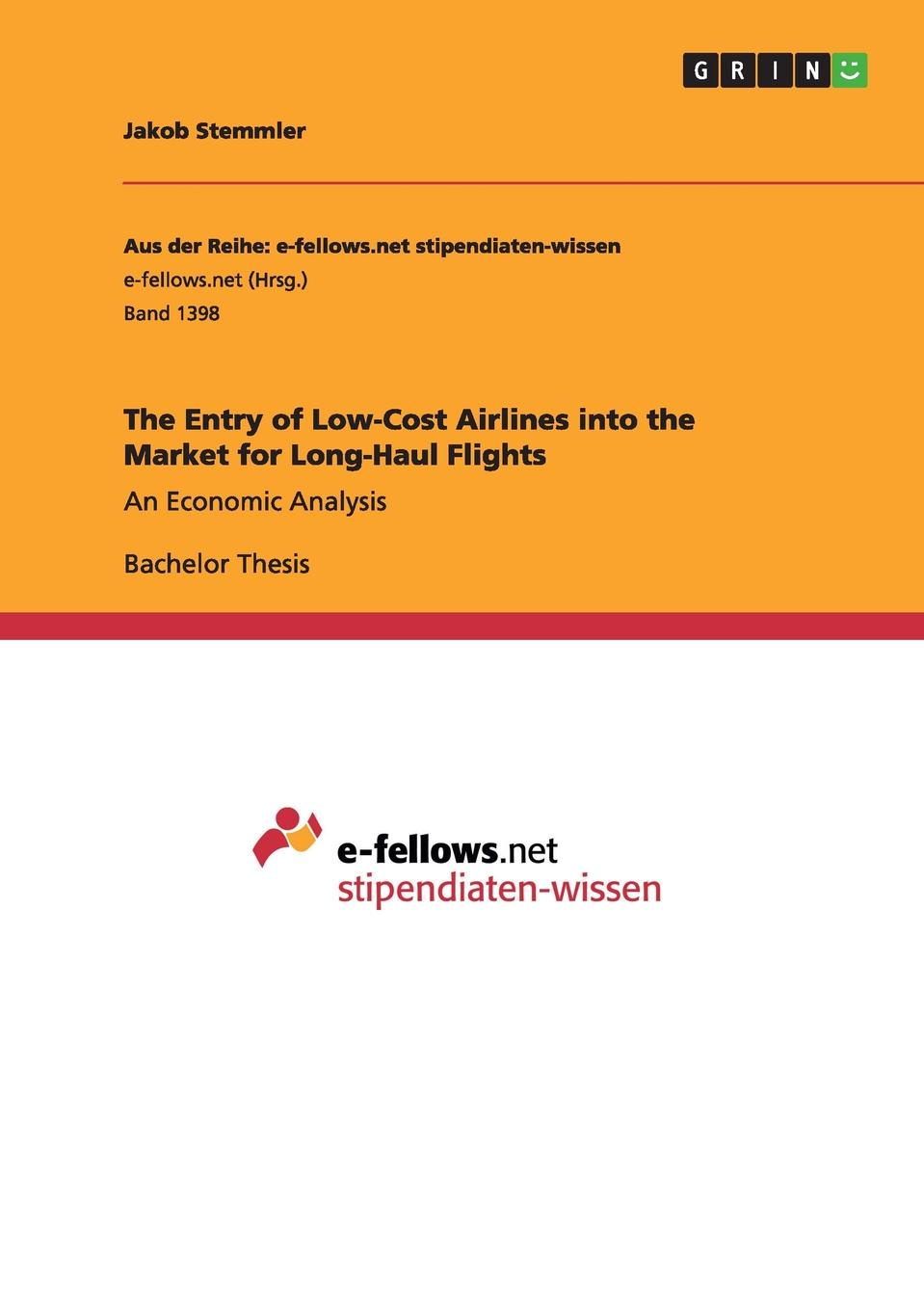 Jakob Stemmler The Entry of Low-Cost Airlines into the Market for Long-Haul Flights standard or nonstandard and timing belt type haul off pulley