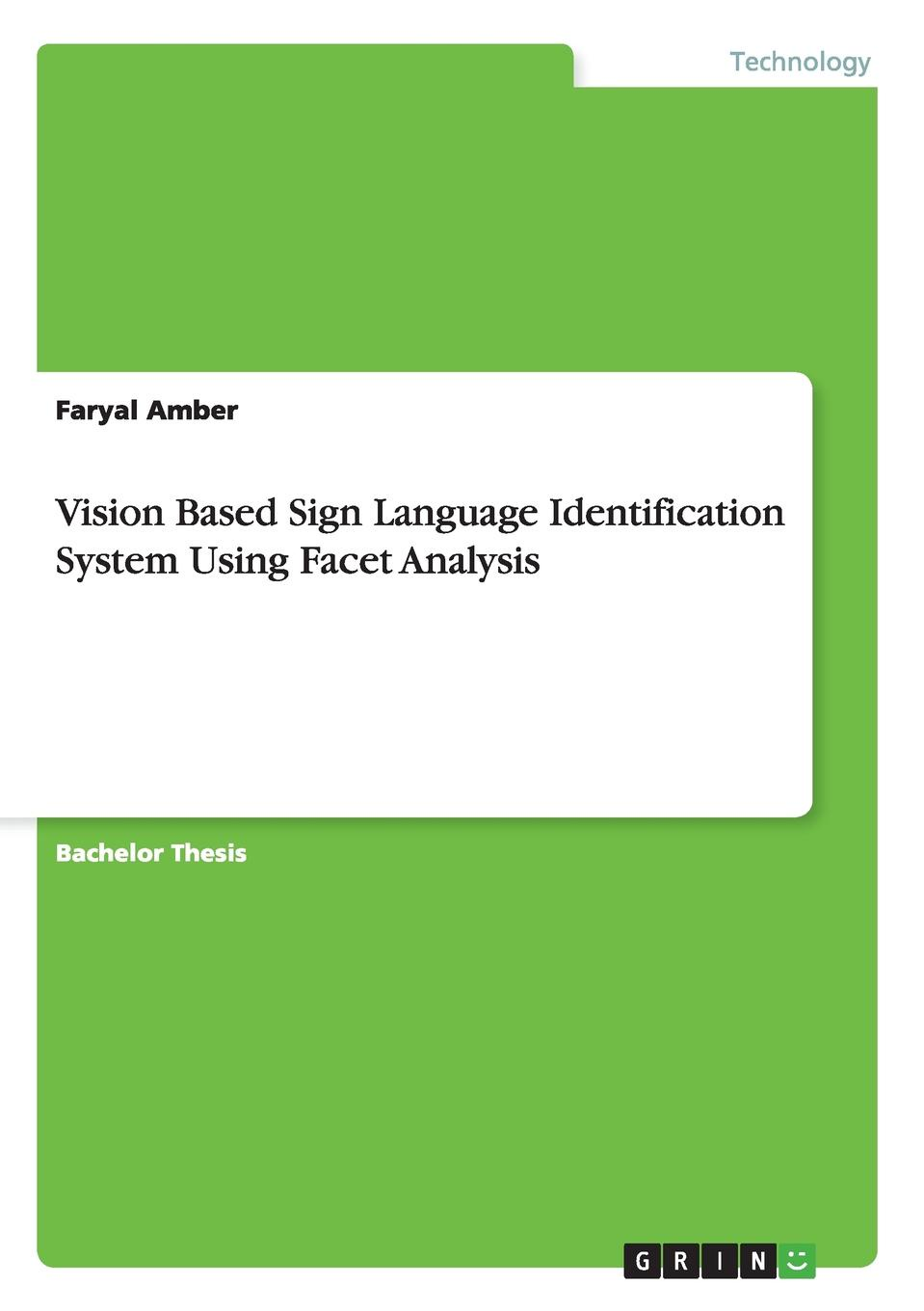 Faryal Amber Vision Based Sign Language Identification System Using Facet Analysis 4 3 inch motion detection peephole viewer ir night vision video door phone