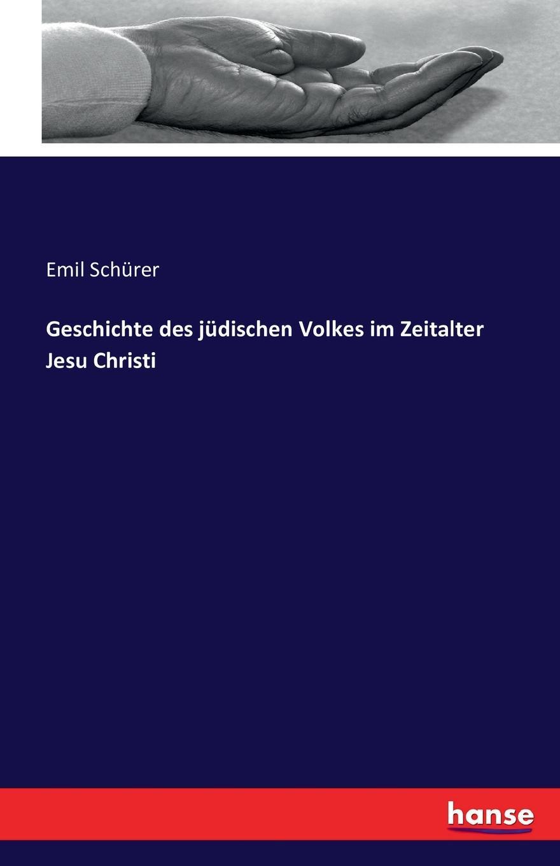 Emil Schürer Geschichte des judischen Volkes im Zeitalter Jesu Christi цена в Москве и Питере