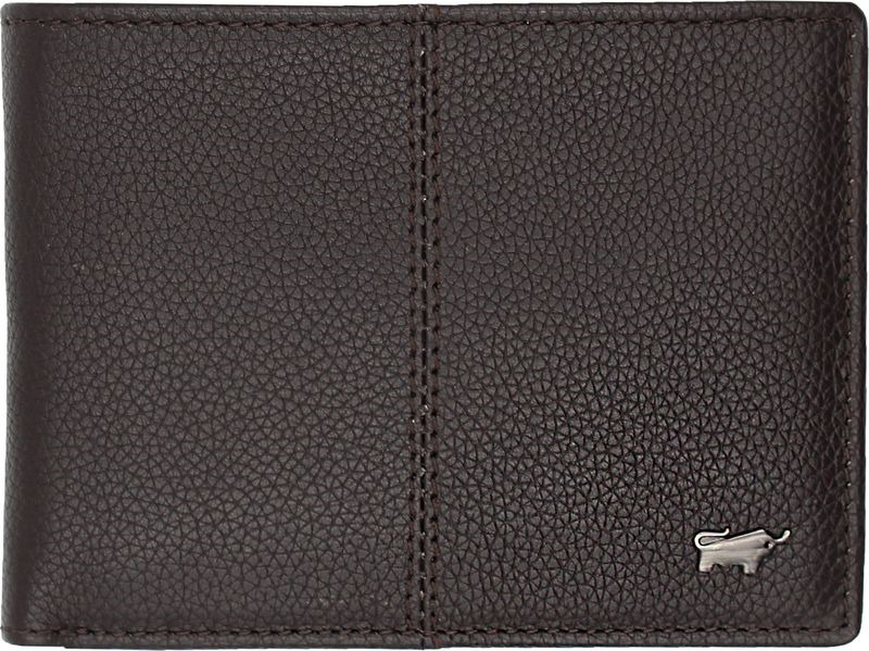 Кошелек мужской Braun Buffel Varese Coin Wallet 4+3Cs, 58131, черный genuine leather wallet men purse bag designer wallets famous brand men wallet 2016 fashion money clip dollar price coin pocket