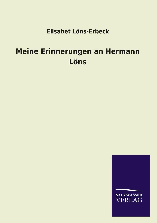 Elisabet Lons-Erbeck Meine Erinnerungen an Hermann Lons elisabet róna sklarek ungarische volksmarchen