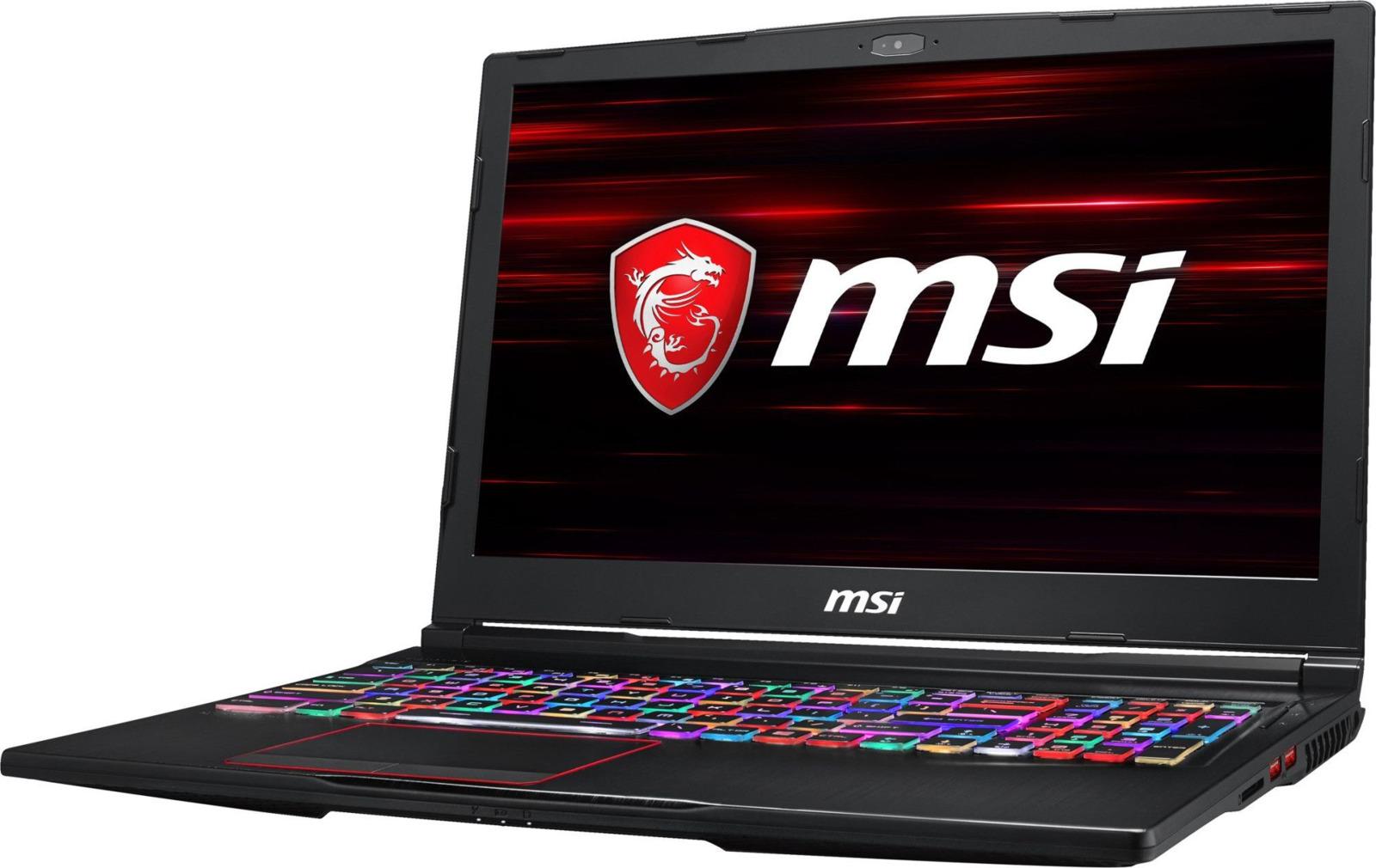 Игровой ноутбук MSI GL63 8SE 9S7-16P732-422, черный