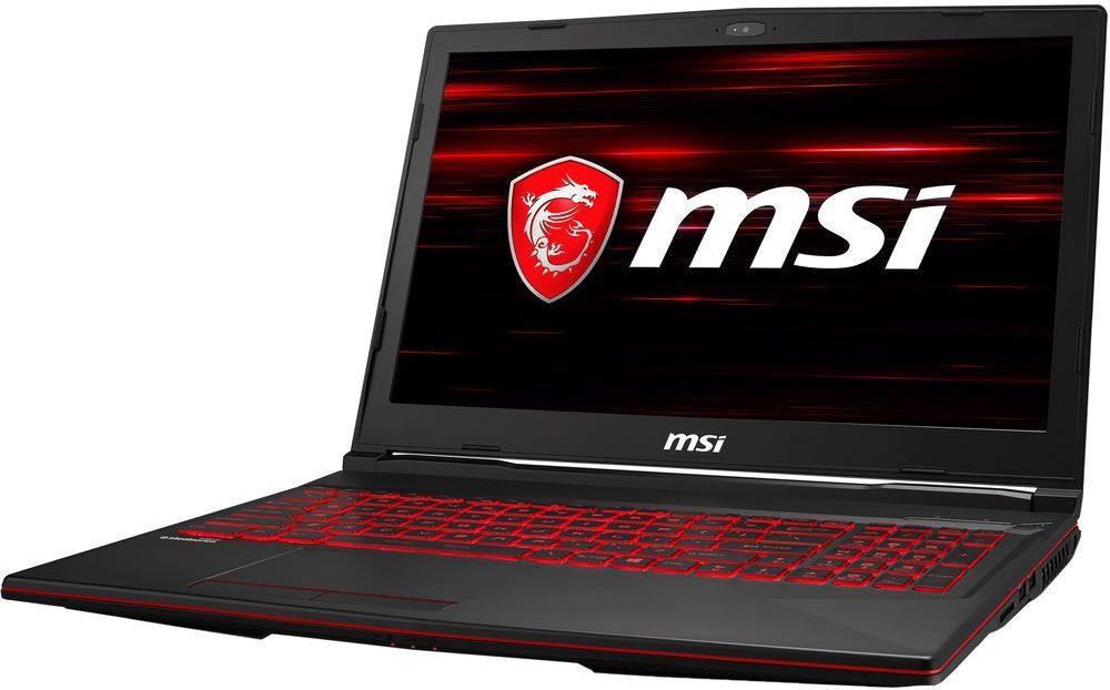 Игровой ноутбук MSI GL63 8SC 9S7-16P812-006, черный