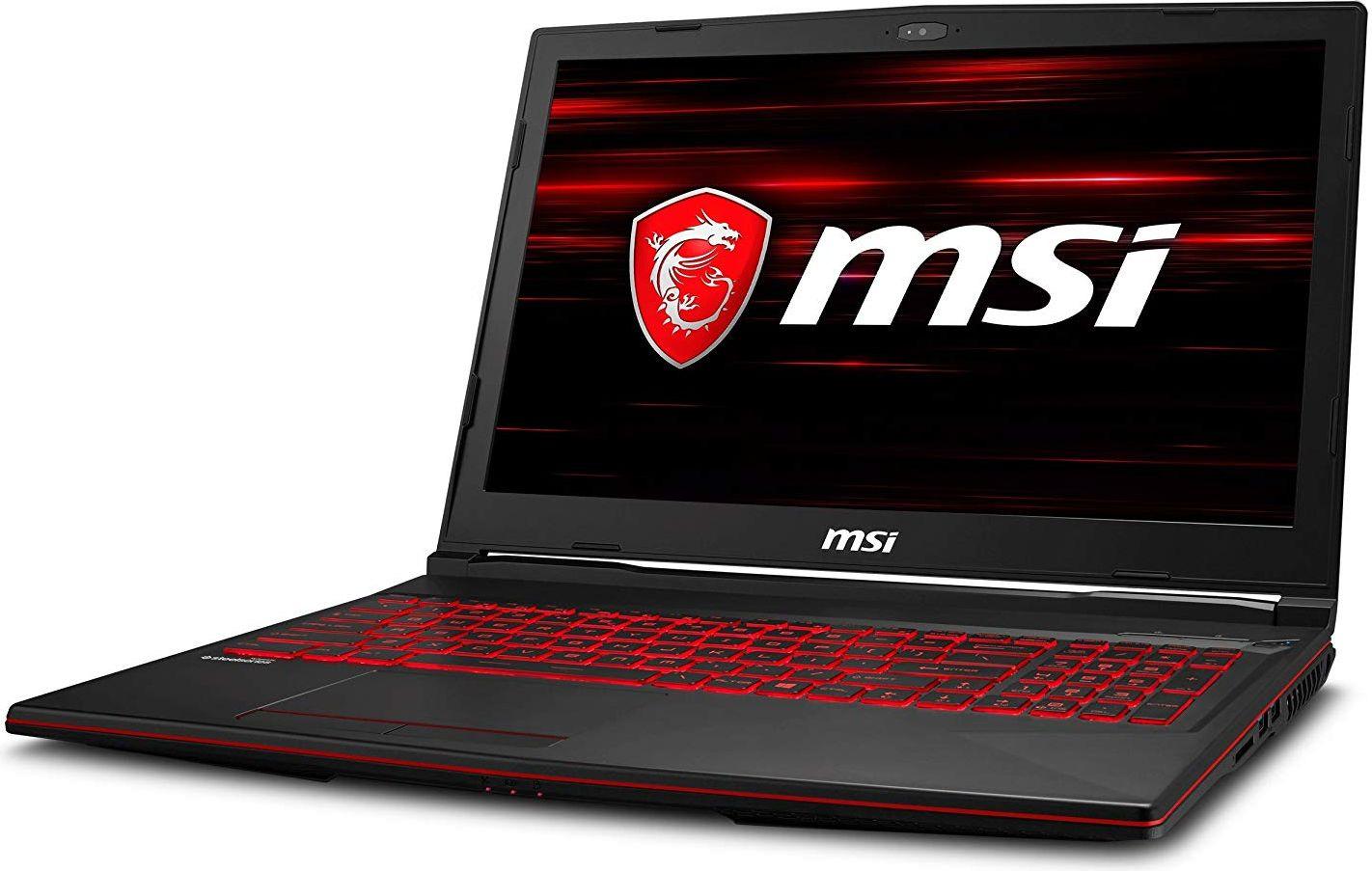 15.6 Игровой ноутбук MSI GL63 8SC 9S7-16P812-009, черный ноутбук msi gl63 8sc 017ru 9s7 16p812 017 i5 8300h 2 3 8gb 1tb 128gb ssd 15 6 fhd ips geforce gtx1650 4gb win10 home black