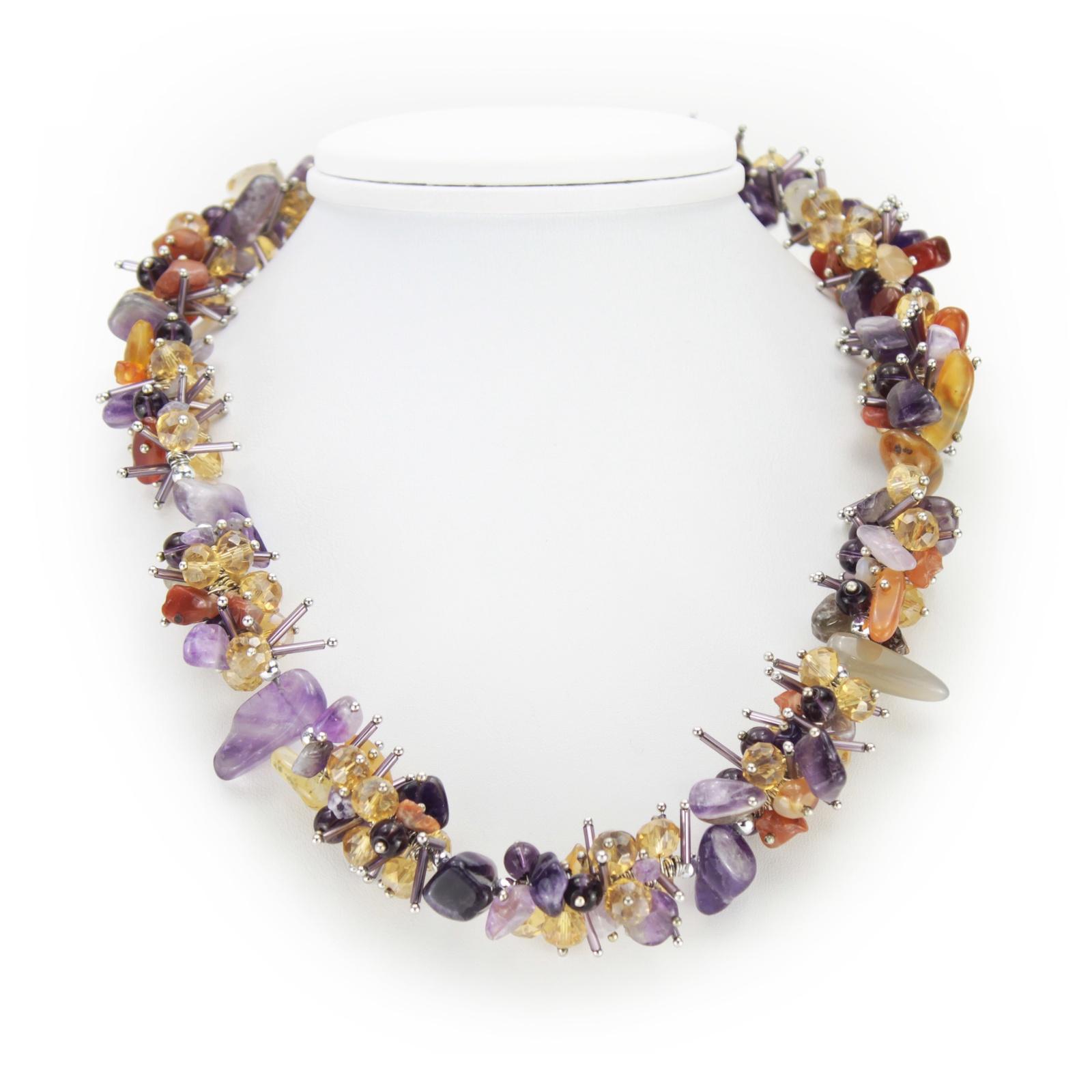 Колье/ожерелье бижутерное цены