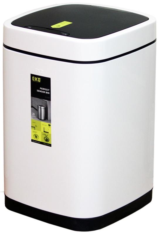 Мусорное ведро EKO EK9288-9L, белый цена и фото