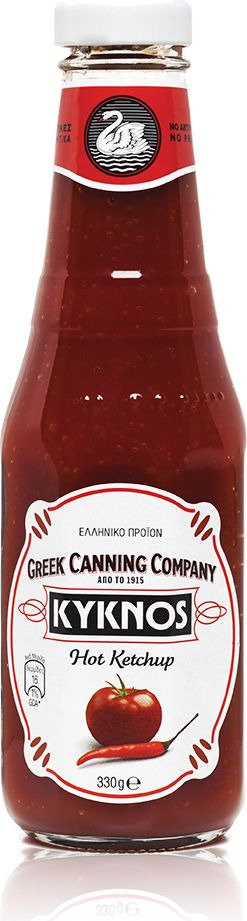 Кетчуп томатный Delphi Kyknos, острый, 330 мл