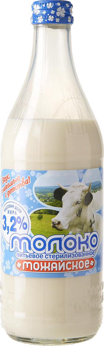 Молоко Можайское молоко, стерилизованное 3.2%, 450 мл Можайское Молоко