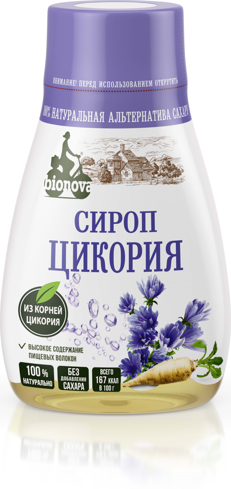 Сахарозаменитель Bionova Сироп цикория, 230 г недорого