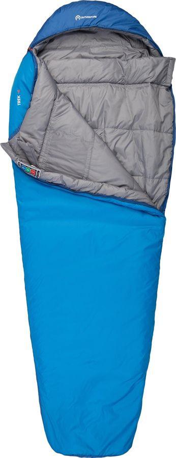 Спальный мешок Outventure Trek T -6, S19EOUOS011-Z3, левосторонняя молния, синий, размер XL-XXL