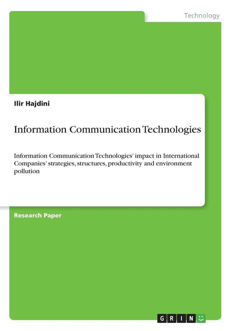 Ilir Hajdini Information Communication Technologies недорго, оригинальная цена