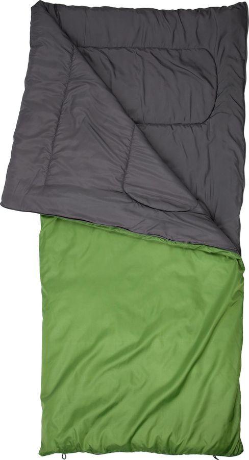 Спальный мешок Outventure Oregon T+15, S19EOUOS033-63, левосторонняя молния, оливковый, размер M-L