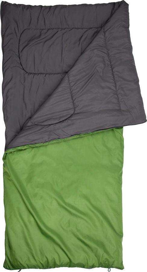 Спальный мешок Outventure Oregon T+15, S19EOUOS035-63, правосторонняя молния, оливковый, размер XL-XXL