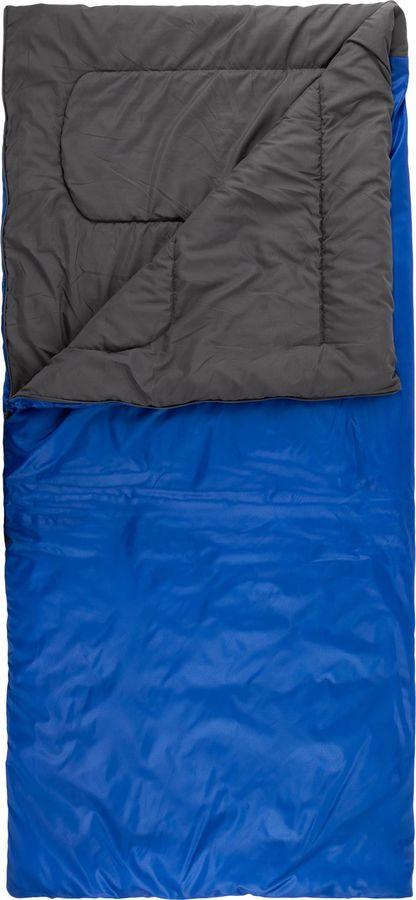 Спальный мешок Outventure Oregon T+15, S19EOUOS036-Z2, правосторонняя молния, синий, размер M-L