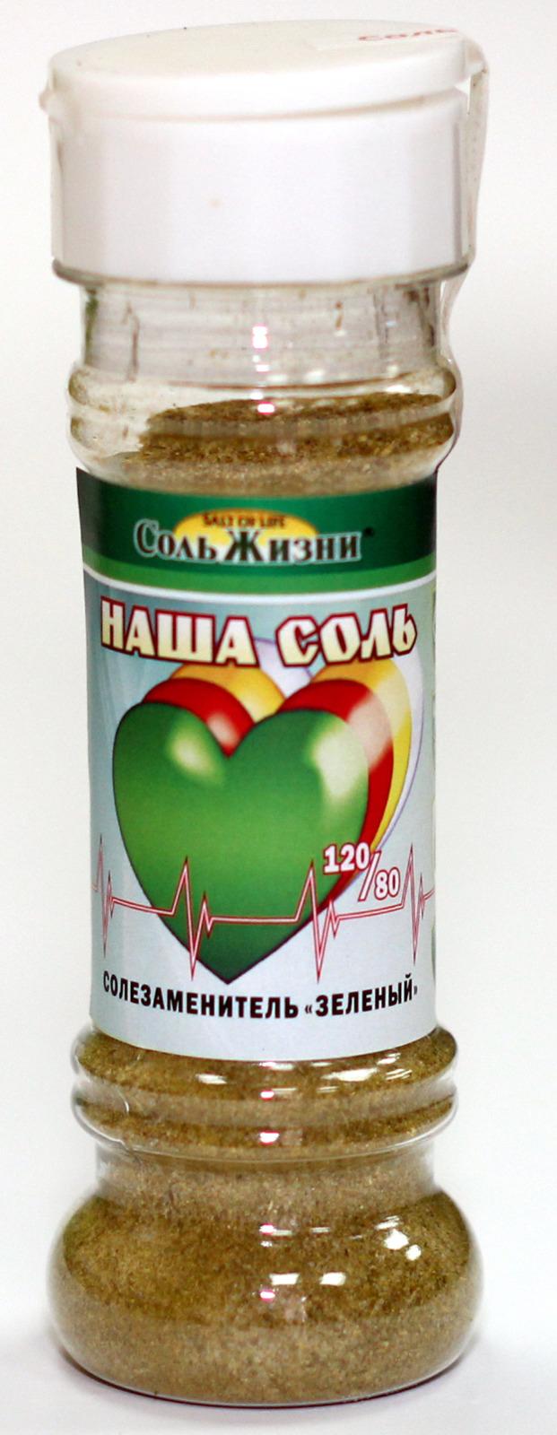 Солезаменитель Соль Жизни Зеленый, 100 г