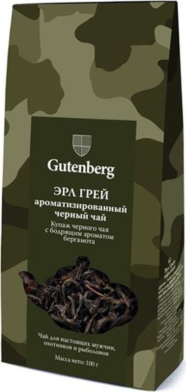 Чай черный листовой Gutenberg Эрл Грей, 100 г, 14008-101K
