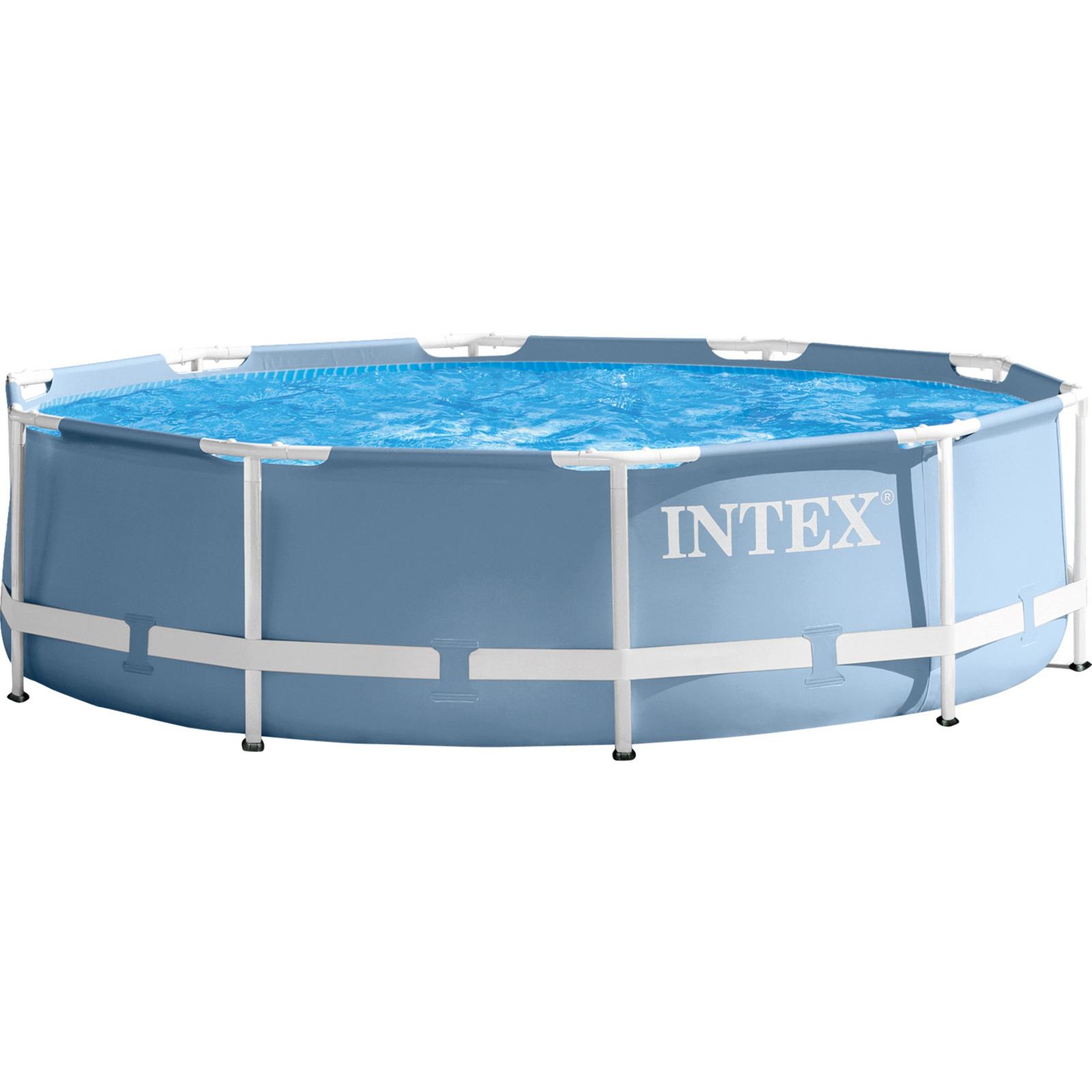Бассейн каркасный Intex Prism Frame, 26700NP, 4485 л, 305 х 76 см бассейн каркасный intex 28310 ultra frame 427х107см