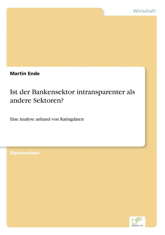 Martin Ende Ist der Bankensektor intransparenter als andere Sektoren. instant chickpea splits