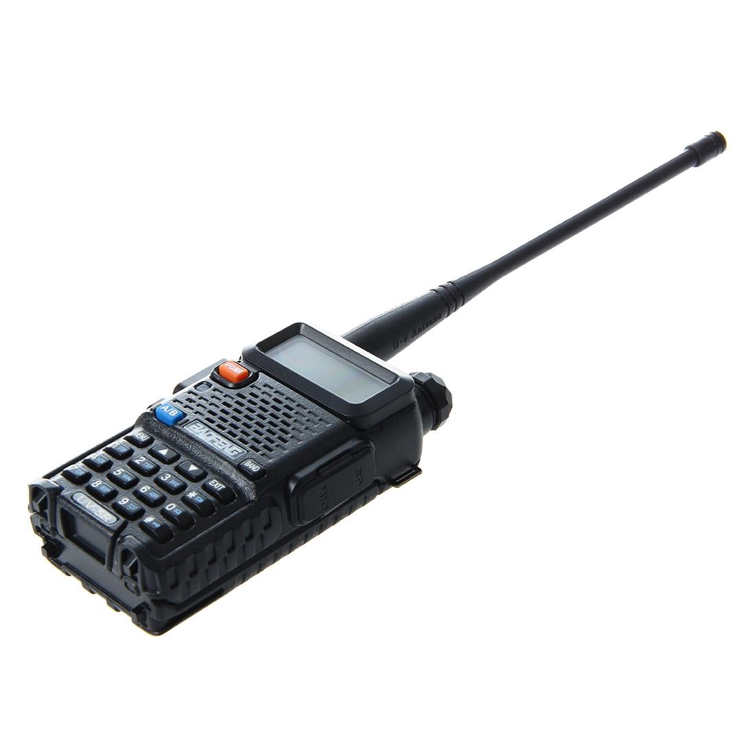 Радиостанция No Name Baofeng UV-5R, черный baofeng bf 888s uhf 400 470 walkie talkie 2