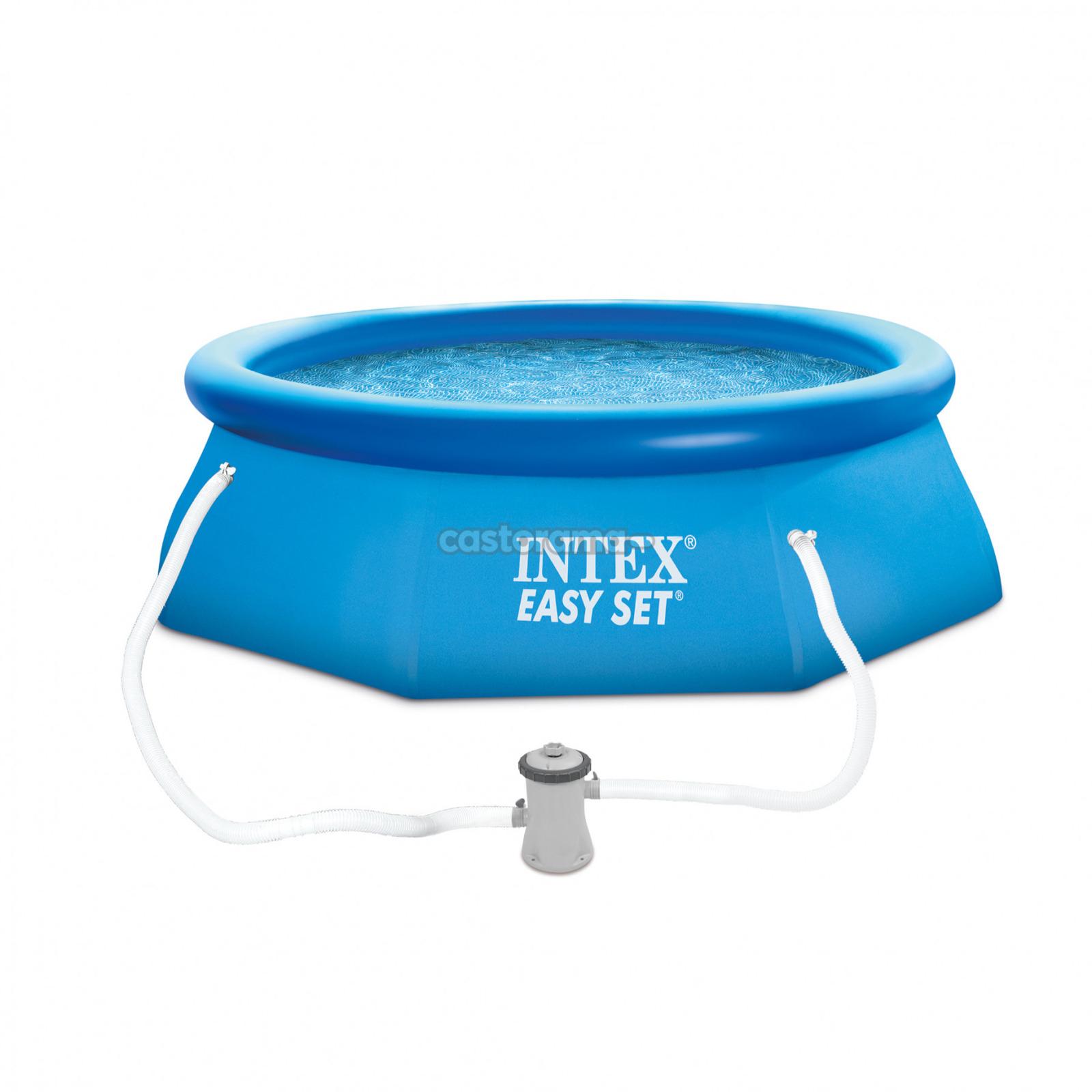 цены на Бассейн надувной Intex Easy Set, 28122NP, 3853 л, 305 х 76 см  в интернет-магазинах