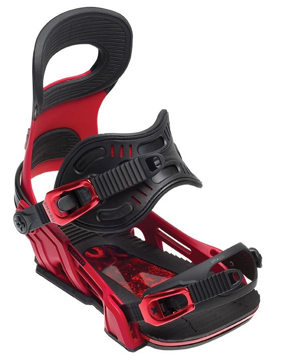 Крепления для сноуборда BMBW BMBW-17BN014, красный gangxun розовый красный l